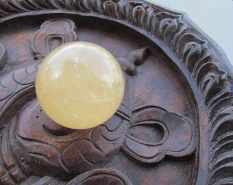 Yellow Calcite Sphere #4462