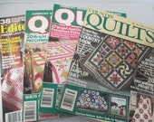 Old Quilting back issues set 4 magazines   good condition