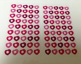 tiny sticker for planner, Midori,Filofax, scheduler,reinforce sticker.pocket book,notebook, diary  bear16