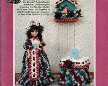 Julie and Accessories Crochet musical Fragrance  Doll  Pattern TD Creations Cat No. Td 833