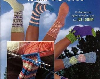 Learn to Knit Socks Knit Pattern Book American School of Needlework 1273