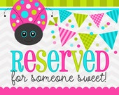 reserved for Tessa