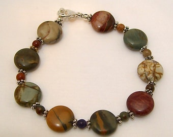 Red Creek Jasper Bracelet