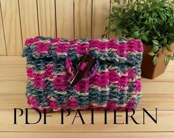 CROCHET BAG PATTERN Crochet Purse Clutch Bag Pouch Carmencita bag Crochet Bag Pouch pdf pattern Instand Download