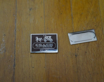 Coach Pin - Magnetic backing