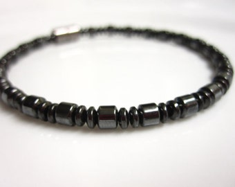 Magnetic Bracelet, Magnetic Therapy Bracelet, High Power Magnetic Hematite