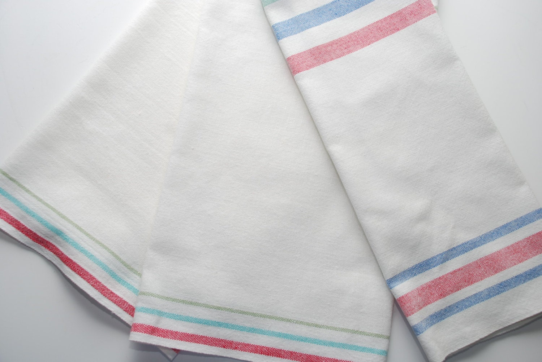 Vintage Cotton Kitchen Towels By Stillwatertreasures On Etsy