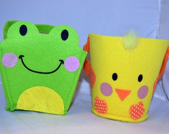 Animal Felt Buckets (25 Treats)
