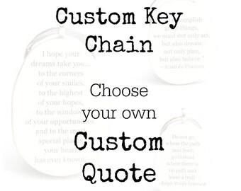 Personalized keychain custom graduation gift grads going away gift graduation favors class of 2015 key fob key charm eco friendly