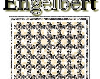 ENGELBERT - Quilt-Addicts Patchwork Quilt Pattern