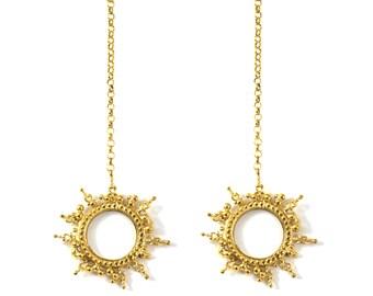 Gold Selene Earrings