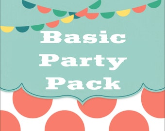 SALE - Build Your Own BASIC Party Pack - Any Theme In The Shop