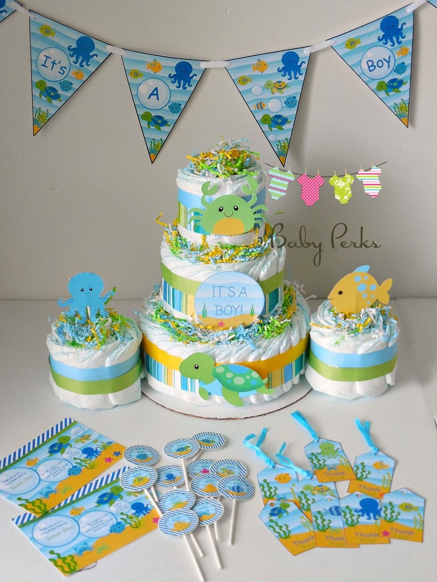 Baby Shower Under The Sea Zoom