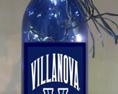 Lighted Bottle Villanova University