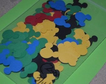 """Mickey Mouse Die Cuts (250) 3/4"""""""