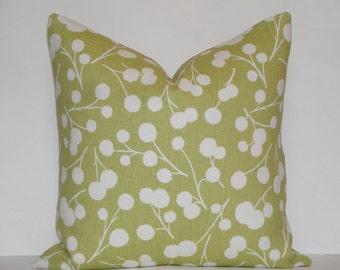 Kravet - Burnet in Citron - Accent Pillow - Sofa Pillow - Designer Pillow