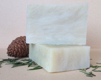 Fir Needle Organic Soap Cold Process