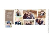 INSTANT DOWNLOAD - Facebook custom timeline cover - Photoshop template -  E353