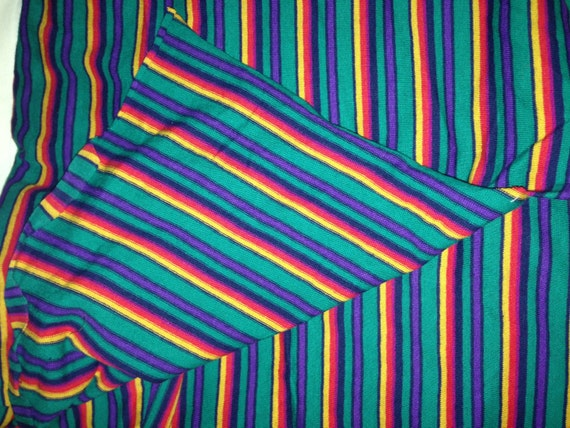 Colorful Striped Spandex Fabric F3