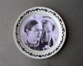 Frida Kahlo and Diego Rivera Art Plate