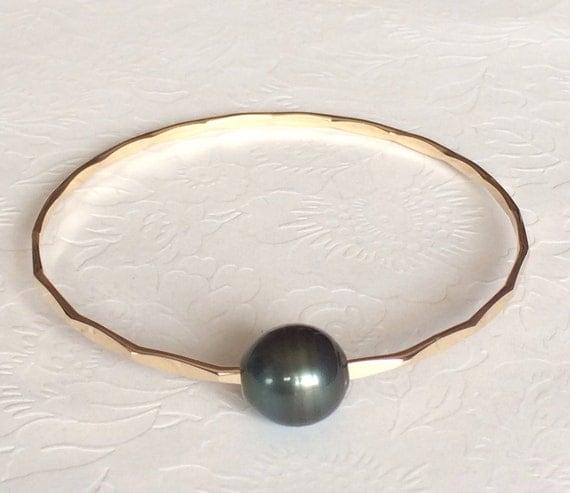 Pearl Gemstone Bangle