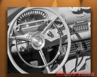 Ford Thunderbird, Thunderbirds, Automobile Print, Black and White, Automobile Art, Automotive Art, T Bird, Classic Ford Cars