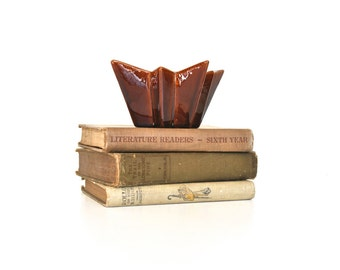 Brown Vintage Planter or Dish  - Modern Home Decor
