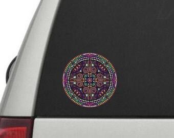 Mandala Full Color Vinyl Decal