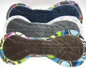 """13"""" OBV or Minky Overnight Menstrual Pads / Post Partum Pads - Set of 3 - Medium to Heavy Flow - Customize Your Set"""