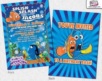 Finding Nemo Invitations, Nemo Invitations
