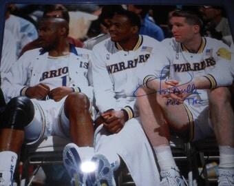 Chris Mullin signed 16x20 photo - Golden State Warriors basketball