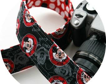Mouse Club Camera Strap DSLR slr