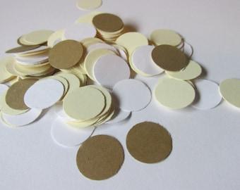 Circle confetti, paper embellishment, party decor  (200count)