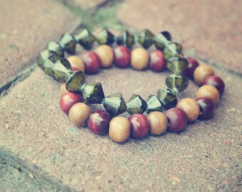 Aztec Inspired Bracelets