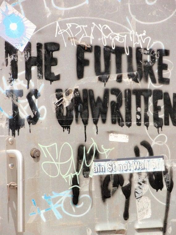 The Future is Unwritten photo