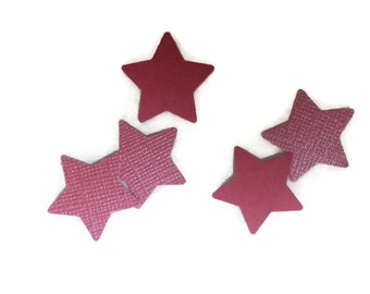Shimmer / Matte Pink OR Your Color Choice Mini Stars Table Scatter / Confetti / Embellishments