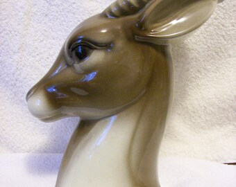Gazelle Vase Planter by Royal Copley