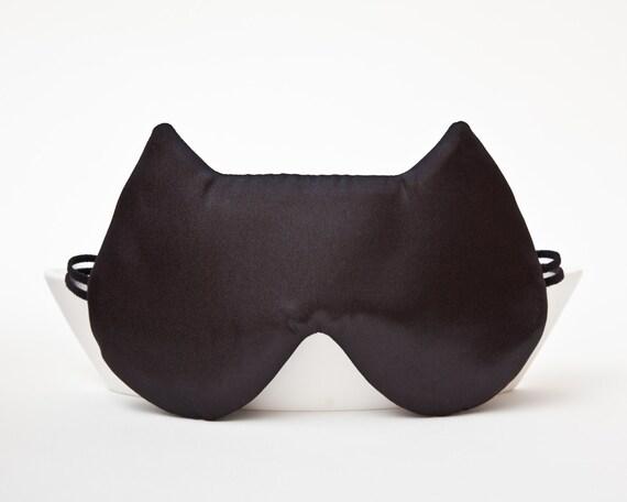 Satin Sleep Mask, Cat