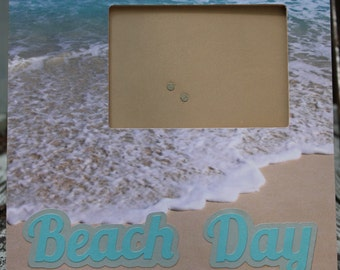 Beach Day picture frame