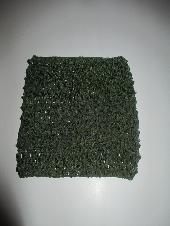 Olive 6'' Crochet Tube Top for Tutu Dresses