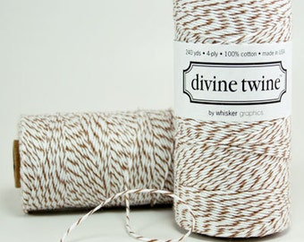 Brown Sugar Divine Twine Baker's Twine 240 Yards