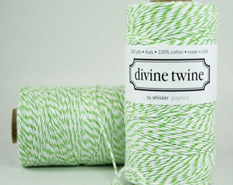 Green Apple Divine Twine Baker's Twine 240 Yards Full Spool