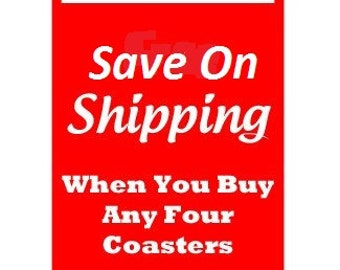 Save On Shipping When You Buy Four
