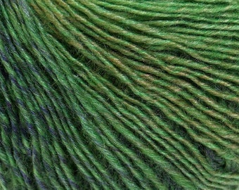 Ice Yarns Mirage Colour Yarn, Green Shades Mirage Colour Yarn, Light DK Wool Blend Yarn