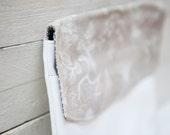 Classic Floral Design Bridesmaid Leather Clutch
