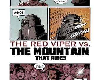 The Red Viper vs. The Mountain