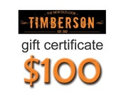Gift Certificate - 100