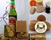 Gift for Him - Shaving & Beer Soap Gift Box- Most Interesting Man - Dos Equis
