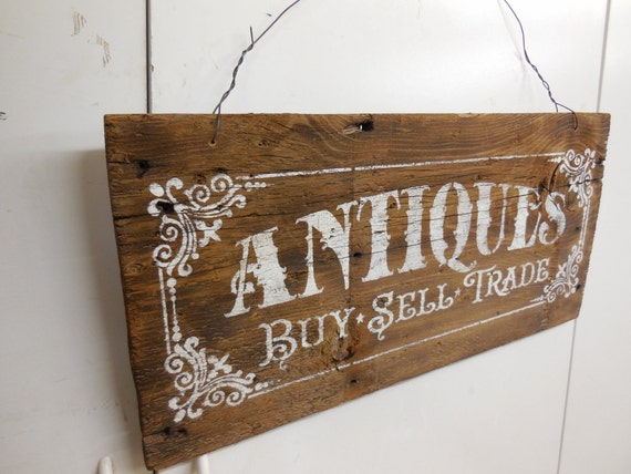 Items similar to Antique Sign, Hand Painted Sign, Barn ...
