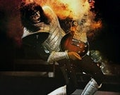 KISS Ace Frehley ALIVE II Era Poster Stand-Up Display - Kiss Band Kiss Collectibles Memorabilia Gift Idea Retro Poster Pintrest kiss76